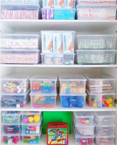 The must-have organizing tool that will change your life: and it costs less than a dollar! The Organized Mom Playroom Organization change costs dollar Life Mom musthave Organized Organizing tool Toy Closet Organization, Organizing Kids Toys, Toddler Room Organization, Closet Storage, Organising, Bathroom Organization, Organizing Ideas, Playroom Closet, Clear Bins