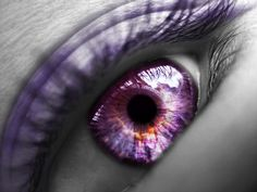 Lilac eyes. This is what Magmaby's eye looks like, but the pupil is diamond shape.