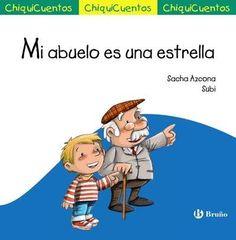"Sacha Azcona / Subi. ""Mi abuelo es una estrella"". Editorial Bruño (4 a 6 años) Muerte abuelo Early Childhood, Smurfs, Boys, Fictional Characters, Festivals, Spanish, Peace, Drawings, Products"