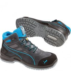 6b587829ddd 634055 Puma Men s Beryll Mid Safety Shoes - Blue www.bootbay.com