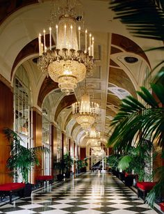 Waldorf Astoria Hotel in Manhattan, NY