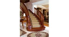Custom Stair Runner Designed by Robin Rogers Interior Design