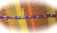 For sale at Retrophoria.com, $14.99 - Genuine Lavender Jade Bracelet set n gold, vintage, Bangle