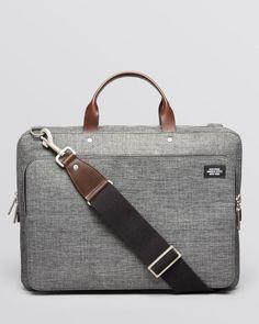 Jack Spade   Gray Tech Oxford Slim Supply Briefcase for Men   Lyst