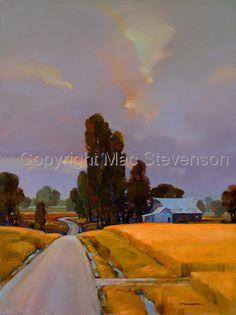 oil, original 40X30 (Contemporary Painting, Oil, Landscape)