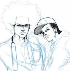 The Adult Riley From The Boondocks Coloring Page Free