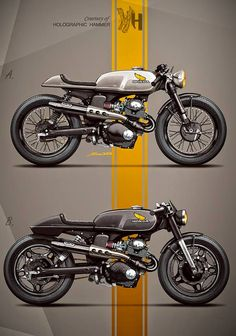 Building a custom bike takes a lot of time and money, as a designer i realized that the first idea is rarely the best, good things co...
