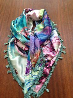 Satijnen sjaals