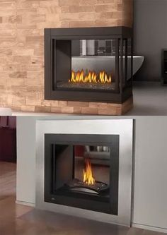 Multiview Fireplaces Add A Great Focal Point To Rooms. Http://fireplacepro.
