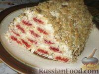Фото к рецепту: Торт Монастырская изба - упрощенный вариант без выпечки