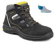 Bezpečnostná členková obuv.