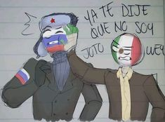 Read CanMex vs RusMex from the story Imagenes yaoi de CountryHumans by with reads. chile, usamex, etc. Humans Meme, Human App, Mexican Memes, Mundo Comic, Body Drawing, Country Art, Disney And Dreamworks, Hetalia, Character Art