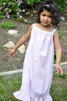 RESERVED Custom Listing for Girls Long Cotton by GrowingPaiges, $20.00