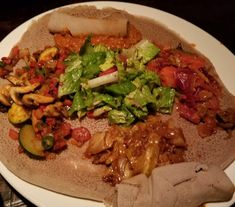 Ethiopian cuisine Review on the website