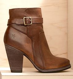 Buckle booties: Love this look for fall!