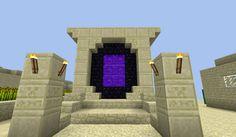 My desert themed nether portal. - Imgur