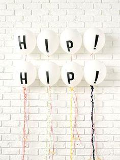 Letter Balloons