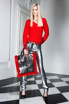Versace Pre-Fall 2011 Collection Slideshow on Style.com
