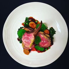 Pistachio & mustard crusted lamb chops red pepper & mint dumplings roasted onion Demi by @rogeliochef Tag your best plating pictures with #armyofchefs to get featured! ------------------------ #foodart #truecooks #foodphoto #chefsroll #chefsofinstagram #foodphotography #hipsterfoodofficial #foodphotographer #gastroart #wildchefs #delicious #instafood #instagourmet #gourmet #theartofplating #gastronomy #foodporn #foodism #foodgasm #plating #f52grams #picsoftheday #dishoftheday #hautecuisines
