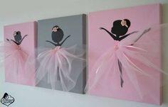 Орехи.ТВ - Очаровательные балерины своими руками. Отличная идея для открыток и…