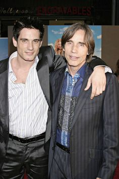 Jackson Browne and Ethan Browne.  Gosh, I remember when Ethan was born!