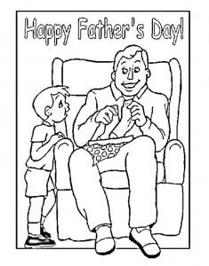 Top 20 Free Printable Father's Day Coloring Pages Online