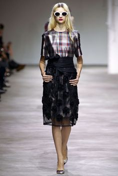 Dries Van Noten Spring 2013 Ready-to-Wear Fashion Show - Nastya Kusakina (Women)