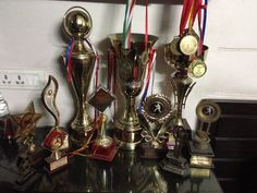 Throwback Cricket !  Trophies and medal collection