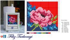 Kurabiye servisine geçmeden, hazırlık yapalım isterseniz :)) Designed and stitched by Filiz Türkocağı...