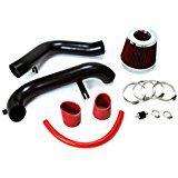 Deals week 01-05 Honda Civic EX LX DX w/ Manual Trans. Black Cold Air Intake Kit   Red Filter