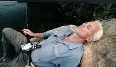 Jeremy Wade, sleeping ,Screenshot by M.F.