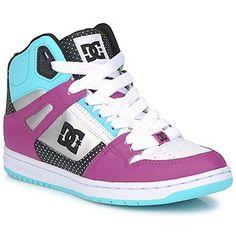 DC Shoes skateshoe mode  http://www.spartoo.com/DC-Shoes-REBOUND-HI-WOMENS-SHOE-x118833.php