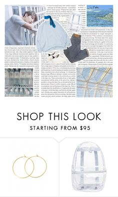 """""""spring day"""" by siwei ❤ liked on Polyvore featuring Oris, Charlene K, Sandro and Topshop"""