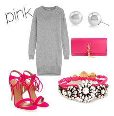 """""""pink"""" by carole-weis on Polyvore"""