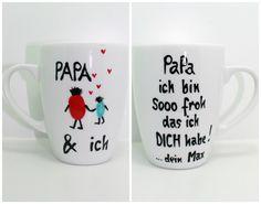 Papa Geschenk Tasse Geschenk Vatertag für PAPA von Lovely-Cups   auf DaWanda.com