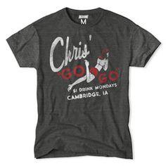 """Chris' """"Go-Go"""" T-Shirt"""