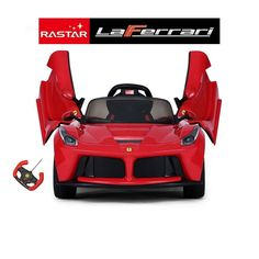 ferrari 12v electric ride on car 3 speed opening doors kids electric ride on cars pinterest