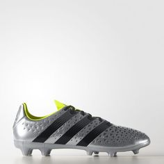 f6b5c23d69b ACE 16.3 Firm Ground Boots - Silver Football Boots