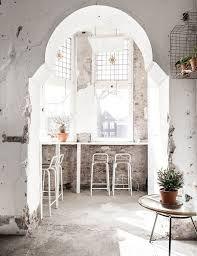 sfgirlbybay / bohemian modern style from a san francisco girl Cafe Interior, Interior Exterior, Interior Architecture, Interior Design, Retail Interior, Cafe Design, Store Design, House Design, White Haven