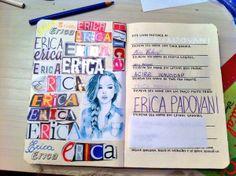 Dono (a) do diário - By Erica A. P. Gonçalves