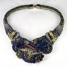 Blue & Rose Necklace by Alex & Lee