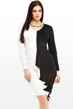 Black and White Dress from FashionToFigure