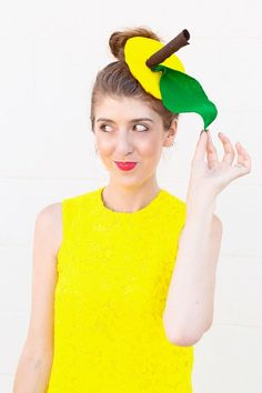 DIY Lemon Costume   studiodiy.com