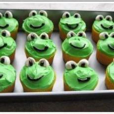 Frog Cupcakes  #cupcakes #kids