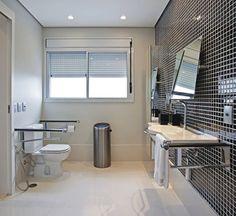 Fotos de banheiros simples com pastilhas