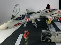 YF-19  Izamu  1/48 diorama Hasegawa