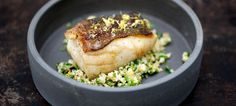 Hake with Cauliflower 'Couscous'