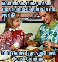 ask grandma!