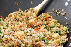 Asian Edamame Fried Rice (Not a veggie but a great side) | Skinnytaste