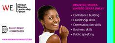 Women In Leadership, Confidence Building, Public Speaking, Communication Skills, African Women, Business, Store, Business Illustration, Black Women